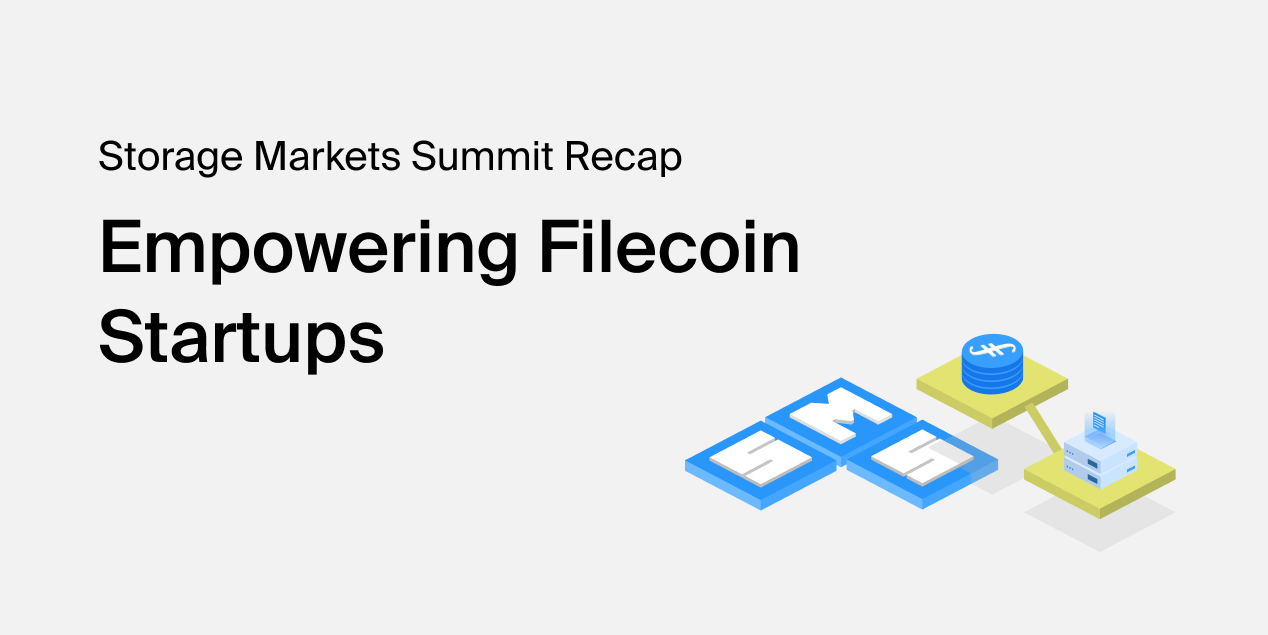 Empowering Filecoin Startups