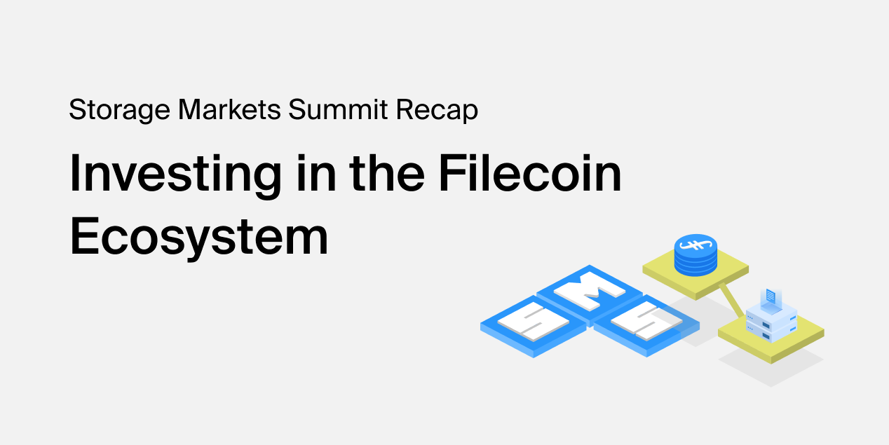 Investing in the Filecoin Ecosystem